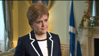 Scottish First Minister, Nicola Sturgeon