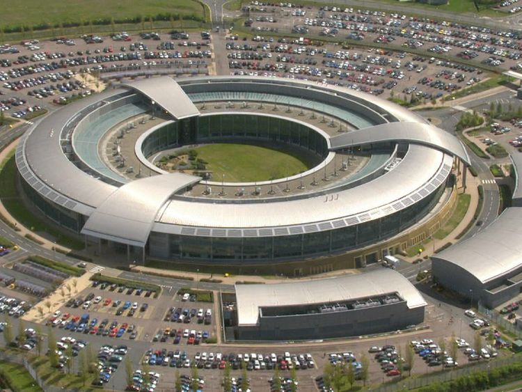 The GCHQ listening post in Cheltenham