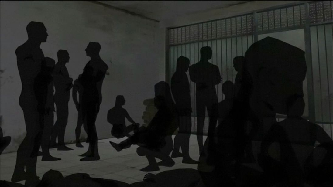 Amnesty International have produced an animation of Sednaya Prison