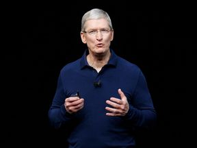 Tim Cook has called for a campaign to fight the spread of 'fake news'