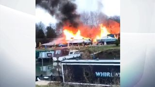 Gas explosion in Oxfordshire destroys four flats
