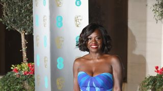 Viola Davis at the after-party for the BAFTAs