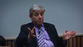 Speaker John Bercow revealed his stance on Brexit to students at Reading University