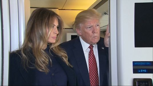 President Trump and wife Melania