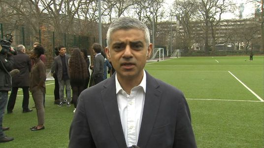 Sadiq Khan says 'drastic change' is needed to fight air pollution