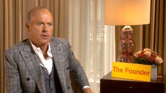 Michael Keaton stars in new McDonalds biopic The Founder