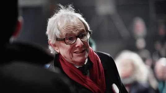 Ken Loach attends the BAFTAs