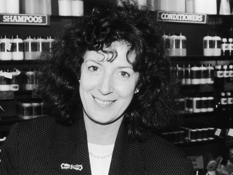 Body Shop founder Dame Anita Roddick died in 2007