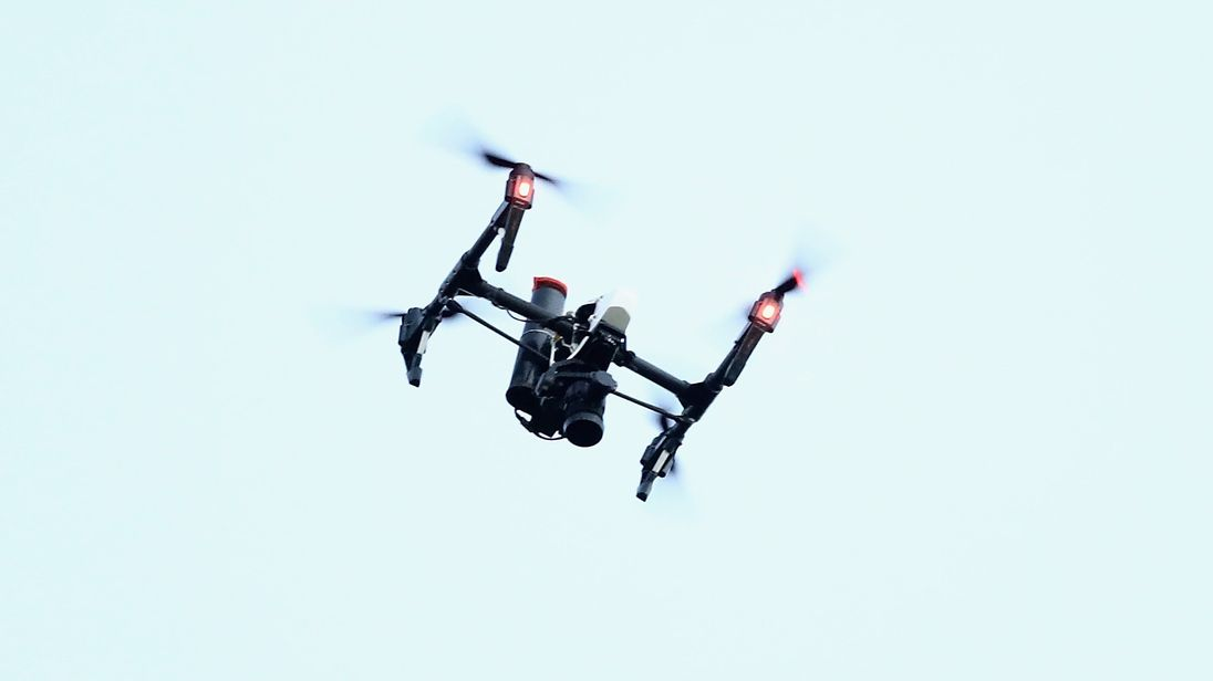 The drone unit will be run from nine stations across the three counties