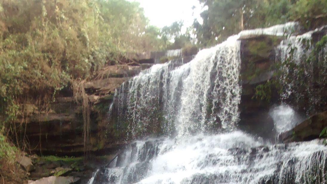 Kintampo waterfalls is a popular tourist spot. Pic: Dieu-Donné Gameli