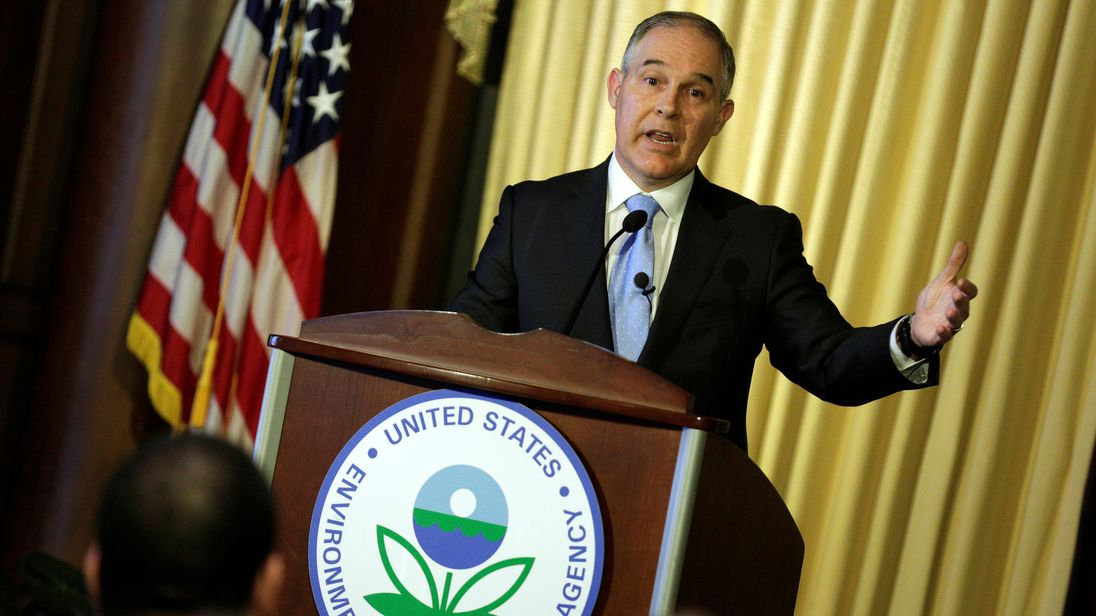 Scott Pruitt - Administrator of the US Environmental Protection Agency