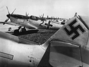 German Messerschmitt 109s
