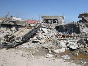 Mosul's al Jadida area