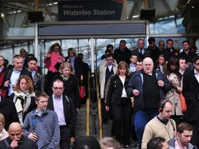 Waterloo is the final London-bound destination on the South West line