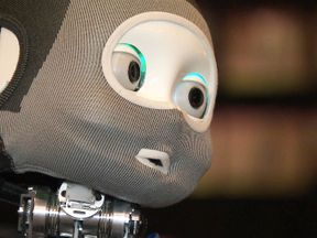 Scientists have showcased 'socially-intelligent' robots which they believe will help tackle loneliness. Matthews VT