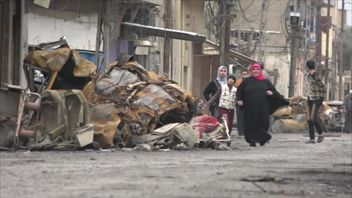 The battle against IS continues in Mosul