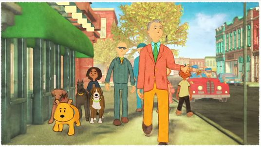 Former David Letterman sidekick Paul Shaffer has joined actor Bill Murray in an animated, cheerful new music video.