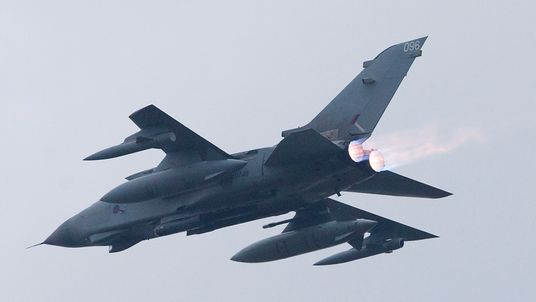 The RAF is sending four of the Mach 1.8 jets to the region