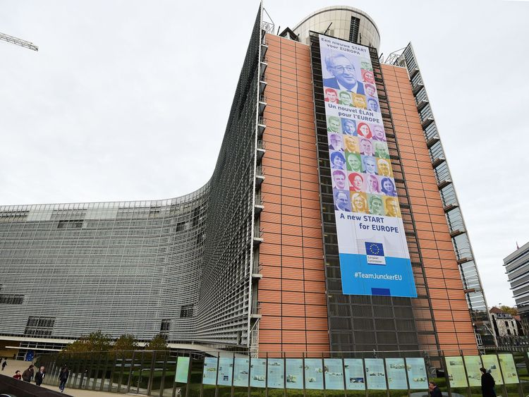The Berlaymont Building: home of the European Commission