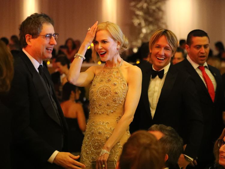 Kidman said she did not want to damage her expensive jewellery