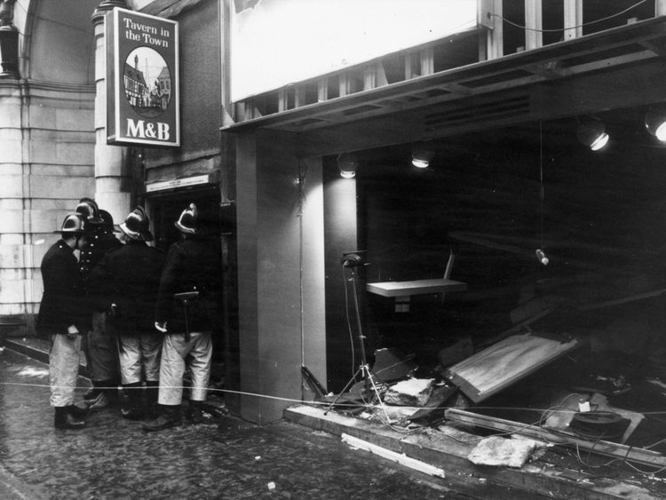 The Tavern in the Town was one of two pubs targeted by the IRA in Birmingham on 21 November, 1974