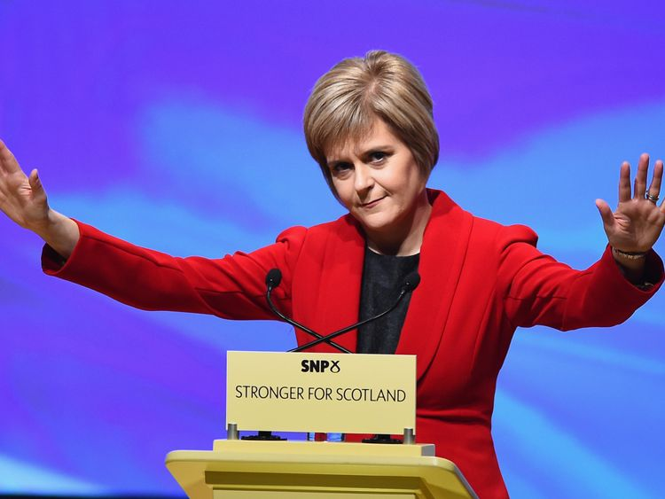 Nicola Sturgeon says things have changed and a second referendum is due