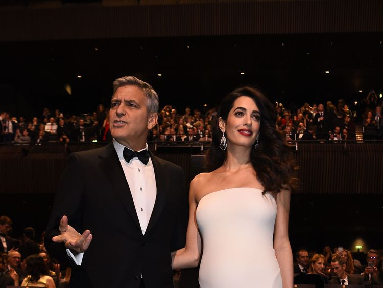 Clooney is expecting twins with his wife, British-Lebanese lawyer Amal Clooney