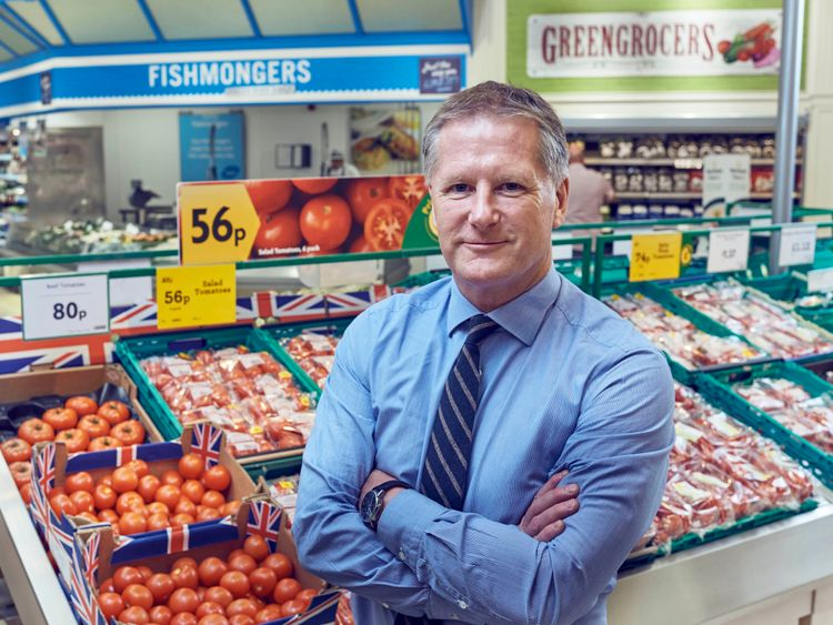 David Potts took over at Morrisons in 2015