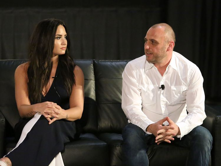 Executive producer Demi Lovato and director Shaul Schwarz discuss the film Beyond Silence