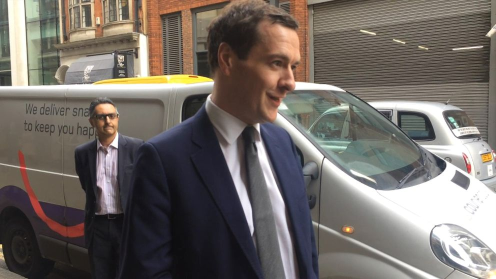 George Osborne says it's a vital time for journalism