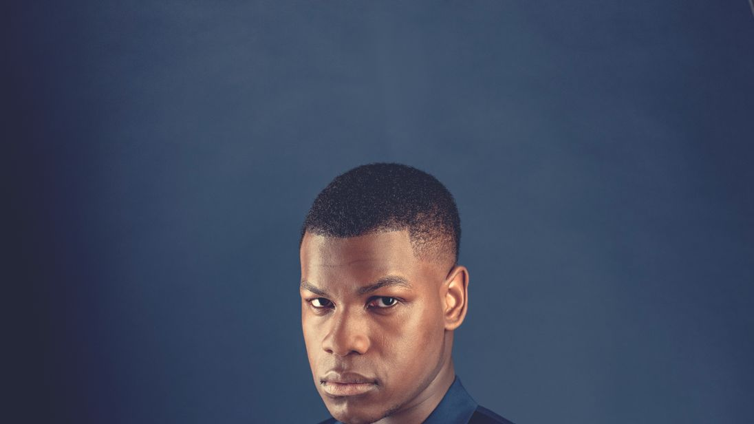 John Boyega. The full interview appears in this week's issue of ES Magazine, Thursday 20th April 2017