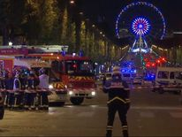 Champs-Elysees is locked down in Paris after a police officer is shot