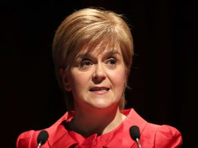Nicola Sturgeon warned against Scotland being 'dragged back by the Tories'