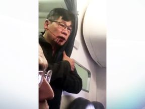 United Airlines passenger dragged off plane