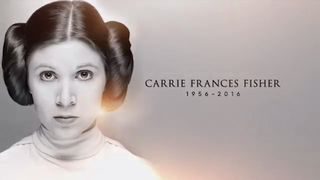 Carrie Fisher tribute