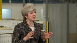 Theresa May addresses the issue of foreign aid