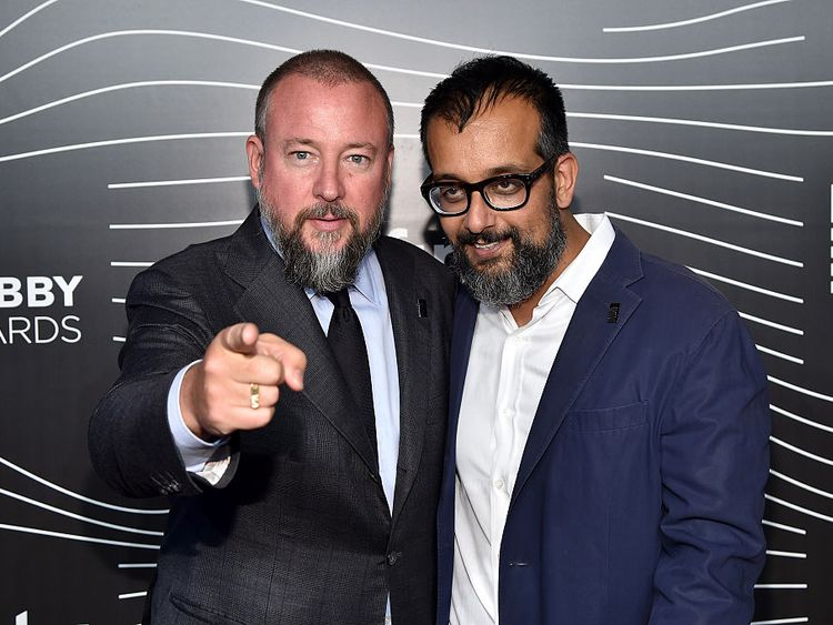 Vice's co-founders Shane Smith and Suroosh Alvi