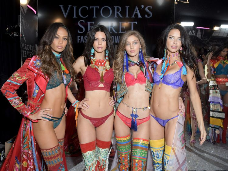 Joan Smalls, Kendall Jenner, Gigi Hadid and Adriana Lima