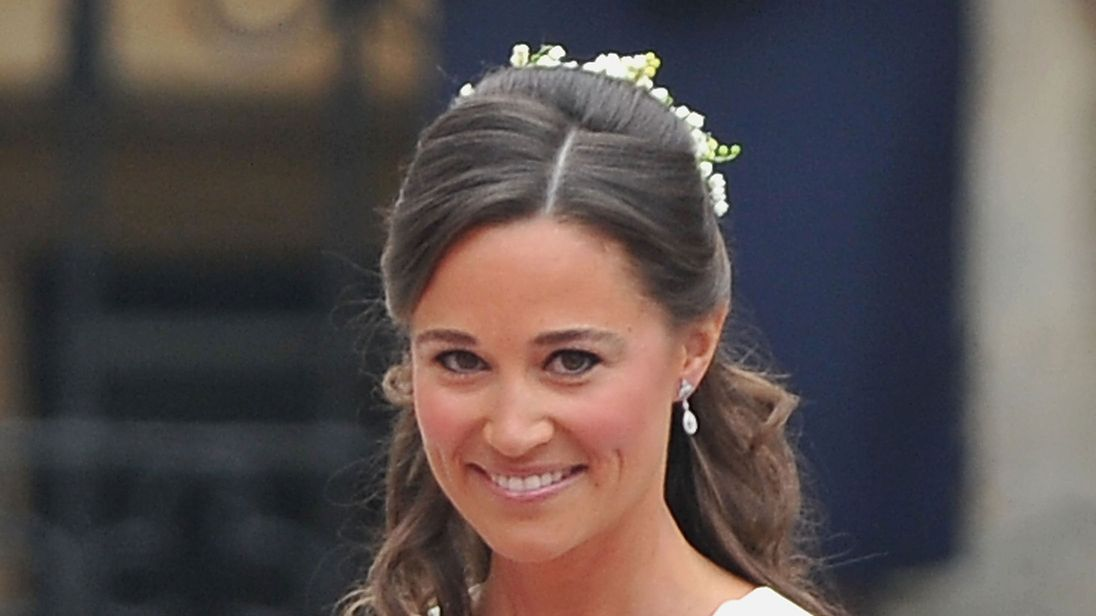 Pippa Middleton at the Royal Wedding of Prince William to Catherine Middleton