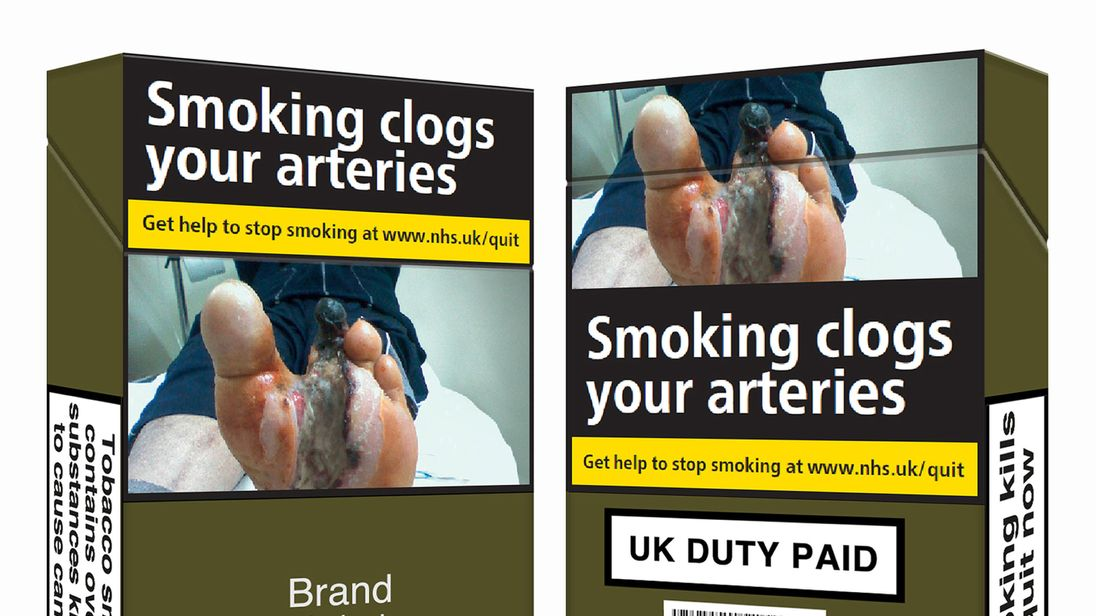 Cigarettes must NOW be sold in standardised green packaging