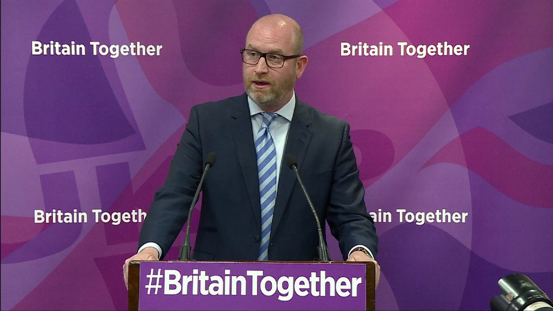 UKIP is wants zero net immigration for the next five years