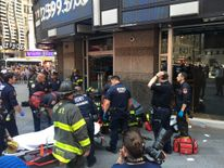 The New York City Fire Department posted this picture of the accident. Pic: @FDNY