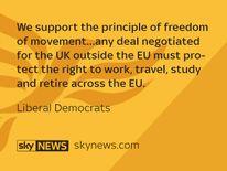 Liberal Democrat manifesto