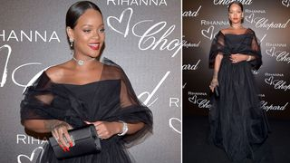 Rihanna attends the Chopard dinner in honour of her and the Rihanna X Chopard Collection