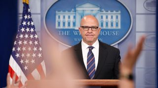 General McMaster faced tough questions on what Mr Trump told the Russians