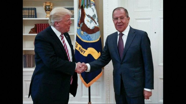 Donald Trump hosted Sergei Lavrov in the White House