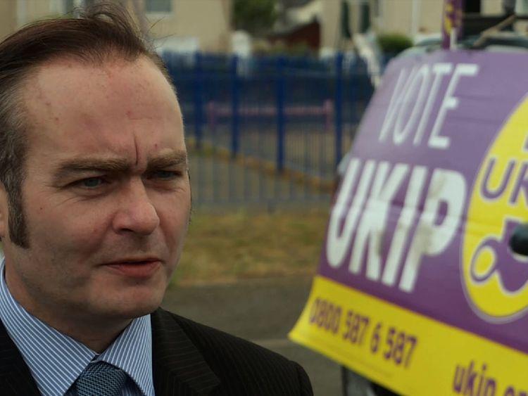 UKIP candidate Paul Oakley