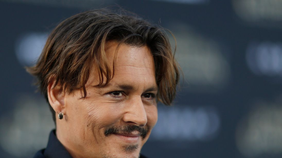 Johnny Depp in May 2017