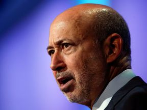 Goldman Sachs Group, Inc. Chairman and Chief Executive Officer Lloyd Blankfein speaks at the Clinton Global Initiative 2014 (CGI) in New York, September 24, 2014.