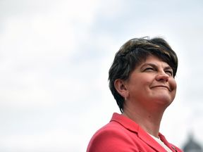 Arlene Foster is every bit Theresa May's equal at negotiating